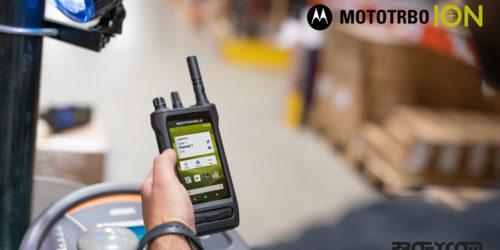 Nuevo MOTOTRBO ION un radio inteligente